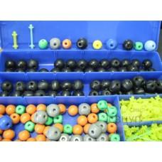 Комплект моделей атомов для составления молекул со стержнями демонстрационный