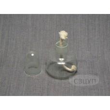 Спиртовка лабораторная литая (50 мл.)