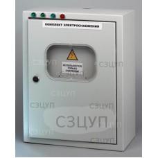 Комплект электроснабжения универ. 220/42/4В с розетками и проводами